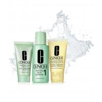 3-Step Skin Care System Set Hauttyp 1 = Liquid Facial Soap 30 ml + Clarifying Lotion 1 60 ml + DDML 30 ml