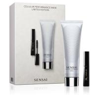 Cellular Performance Mask Set = Sensai CP Mask 100 ml + Mascara 38C Lash Volumiser 3,5 ml