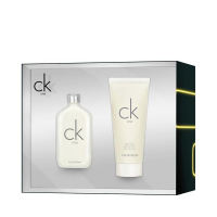 CK One Set = E.d.T. Nat. Spray 50 ml + Body Wash 100 ml