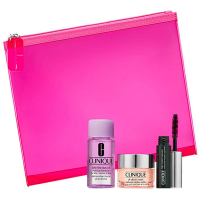 Clinique All About Eyes Set = All About Eyes + Take The Day Off Makeup Remover + High Impact Curling Mascara 3Artikel im Set
