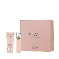 Ma Vie Pour Femme Xmas Set = E.d.P. Nat. Spray 30 ml + Perfumed Body Lotion 100 ml