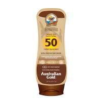 SPF 50 Lotion Sunscreen with Instant Bronzer