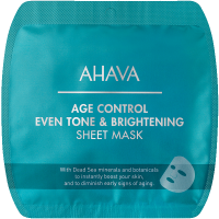 Ahava Time to Smooth Age Control Even Tone & Brightening Sheet Mask 1Anwendungen