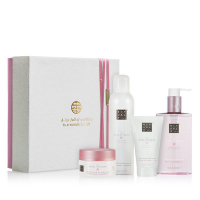 The Ritual of Sakura Renewing Giftset Medium = Foaming Shower Gel 200 ml + Body Scrub 125 g + Body Cream 70 ml + Hand Wash 300 ml