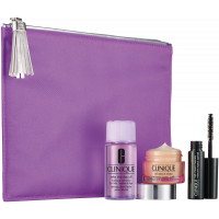 Clinique All About Eyes Set = All About Eyes + High Impact Curling Mascara + Take The Day Off Makeup Remover 3Artikel im Set