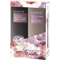M2Beauté Expressive Eyes Set = Eyezone Conditioning Care Complex + 3 Looks Black Nano 2Artikel im Set