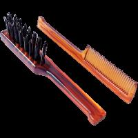 Mondial Antica Barberia Beard Brush and Cumb Kit 2Artikel im Set