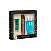 Helena Rubinstein Lash Queen Fatal Blacks Coffret = Lash Queen Fatal Blacks + All Mascaras! Complete Eye Make-Up Remover + Powercell The Eye Care 3Artikel im Set