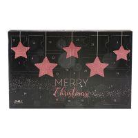 Adventskalender 'Traditional' Sparkling Stars roségold