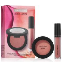 Gen Nude Rosy Days Set = Powder Blush On the Mauve 6 g + Matte Liquid Lipcolor Friendship 4 ml