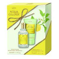 Lemon & Ginger Set = E.d.C. Nat. Spray + Aroma Shower Gel