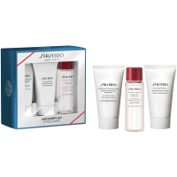 Essential Energy Set = Clarifying Cleansing Foam 30 ml + Treatment Softener 30 ml + Moisturizing Cream 30 ml