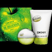 DKNY Be Delicious Set = E.d.P. Nat. Spray + Body Lotion 2Artikel im Set