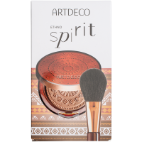 ARTDECO Hello Sunshine Bronzing Set = Bronzing Powder Compact Nr. 2 9 g + Powder Brush 2Artikel im Set