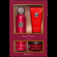 Rituals The Ritual of Ayurveda Discovery Set = Foaming Shower Gel 200 ml + Body Scrub 125 g + Body Cream 100 ml 3Artikel im Set