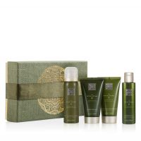 Rituals The Ritual of Dao Calming Treat Giftset = Foaming Shower Gel + Shower Oil + Body Scrub + Body Cream 4 Artikel im Set