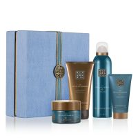 Purifying Ritual Giftset = Foaming Shower Gel + Black Soap + Body Scrub + Shower Clay