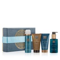 Rituals The Ritual of Hammam Purifying Treat Giftset = Foaming Shower Gel + Black Soap + Body Cream + Hand Wash 4Artikel im Set