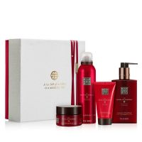 The Ritual of Ayurveda Rebalancing Giftset Medium = Foaming Shower Gel 200 ml + Pik Salt Scrub 125 g + Body Cream Cream 70 ml + Hand Wash 300 ml