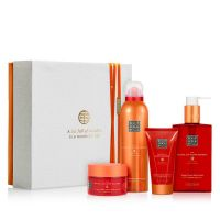 The Ritual of Happy Buddha Energising Giftset Medium = Fortune Shower Gel 200 ml + Smile Body Scrub 125 g + Body Cream 70 ml + Happy H.H. Wash 300 ml