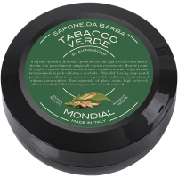 Mondial Antica Barberia Shaving Soap Travel Pack Tabacco Verde 60g