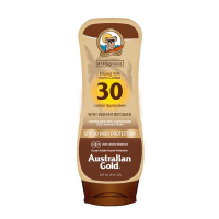 SPF 30 Lotion Sunscreen with Instant Bronzer