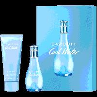Cool Water Woman Set = E.d.T. Nat. Spray 30 ml + Body Lotion 75 ml