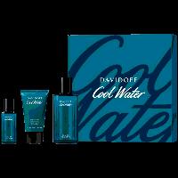 Cool Water Set = E.d.T. Nat. Spray  75 ml + Shower Gel 50 ml + E.d.T. Nat. Spray 15 ml
