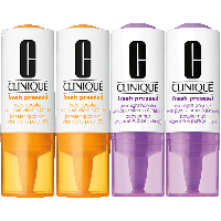 Fresh Pressed Kit = 2x Daily Booster with Pure Vitamin C 10%  6 ml + 2x Overnight Booster with Pure Vitamin A (retinol) 6 ml
