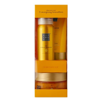 The Ritual of Mehr Trial Set =Foaming Shower Gel 50 ml + Body Cream 70 ml + Body Scrub 125 g