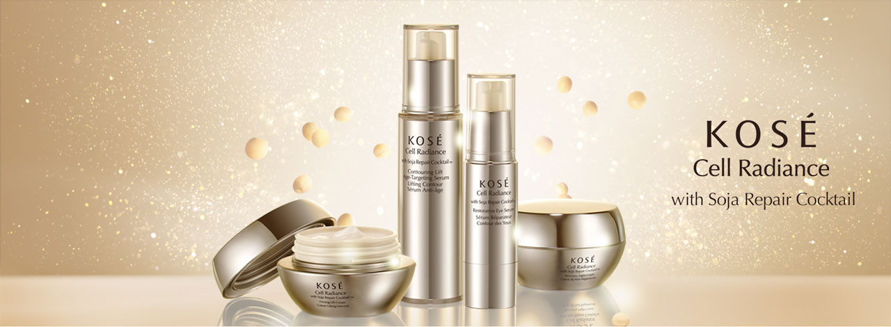 Kosé Cell Radiance Soya Repair Cocktail