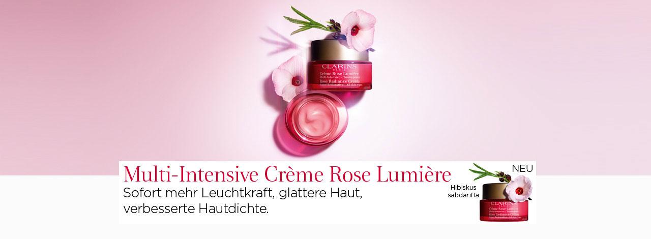 Clarins Crème Rose Lumière
