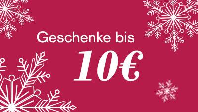 Geschenke bis 10€