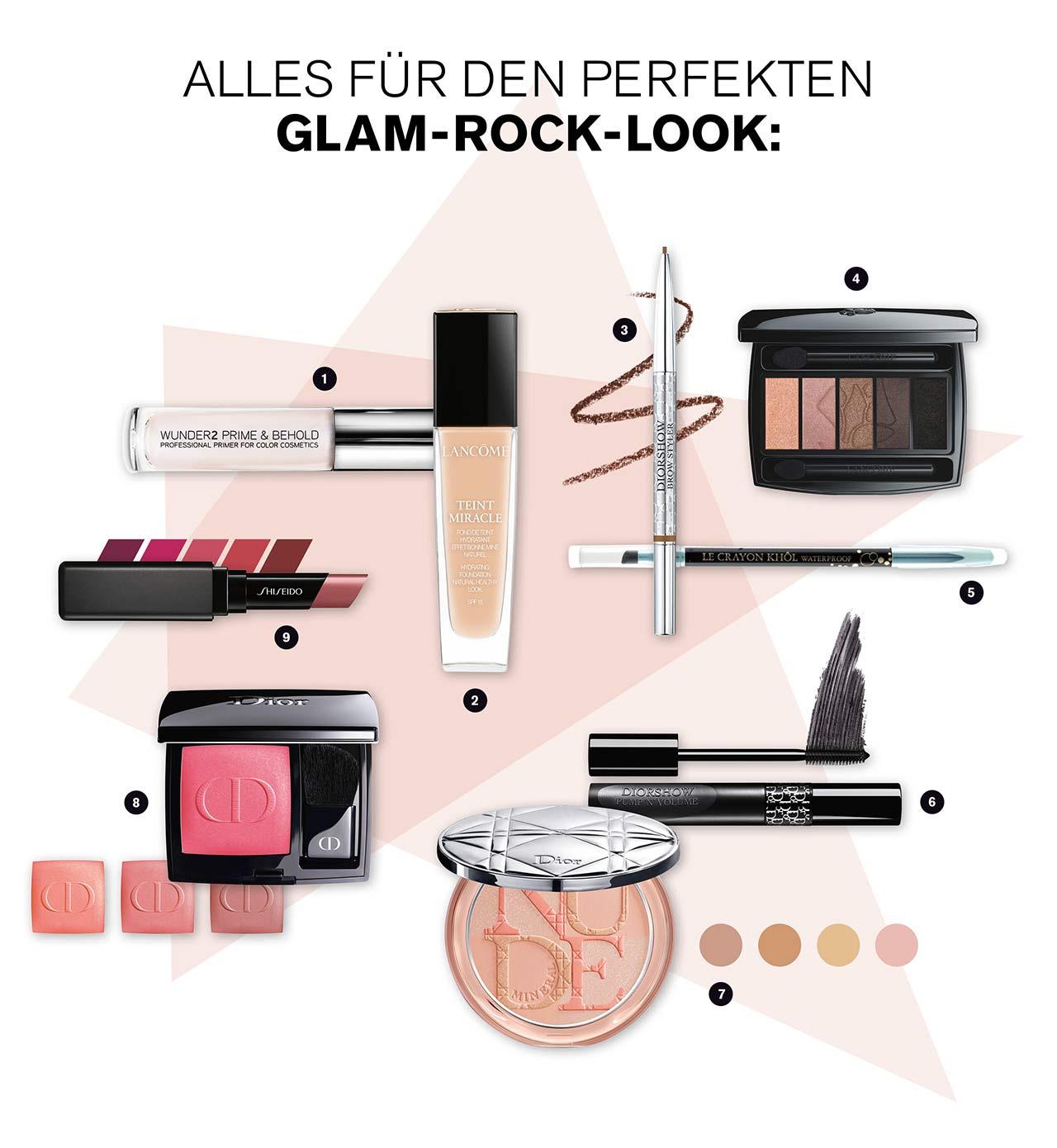 Glam Rock Look Produkte