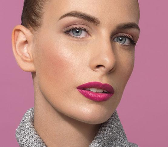 Pink Lips Schuback Look