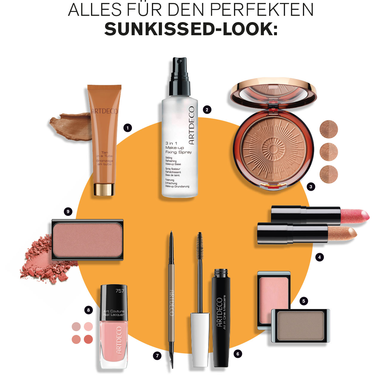 Schuback Sunkissed Look Produkte