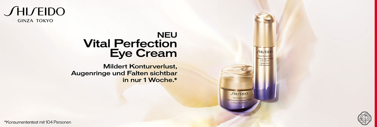Shiseido Vital Perfection bei Schuback